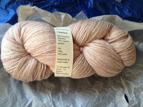 Pale Rose Petals wool