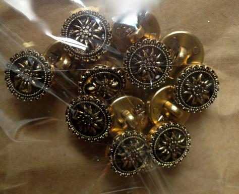 Edelweiss buttons