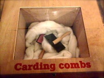 carding combs
