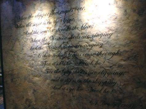 a woolly poem