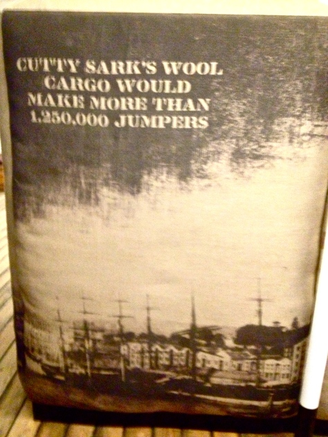 Cutty Sark's 1,250,000 jumpers