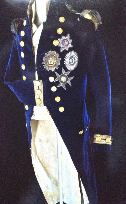 Nelson's coat worn at the Battle of Trafalgar