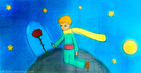 The Little Prince and his Rose by ~lulii13omg
