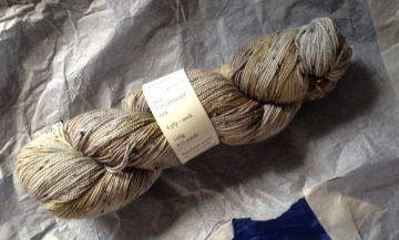 Bluefaced Leicester wool, Skein Queen