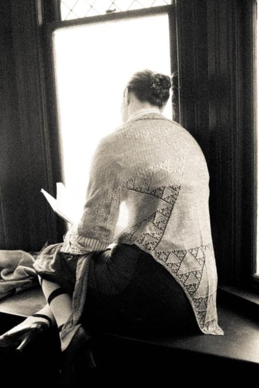 Fractal shawl: The Sierpinski Gasket Shawl