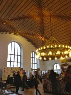 Interiors on the upper floor