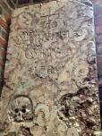 Marthin? 1700, note the skull