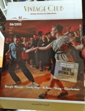 """Vintage Club"": swing and old school dancing"