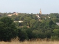 View across the fields, looking at the Highgate side