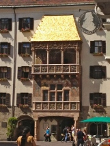 Goldenes Dachl (symbol of the city)