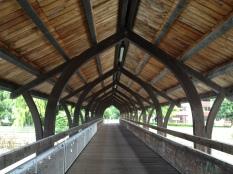 Innsteg Bruck (foot bridge over Inn river)
