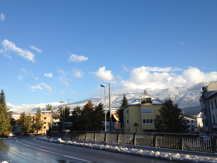 the earliest snow in a long time