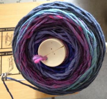Rowan Colourscape Chunky in Frosty
