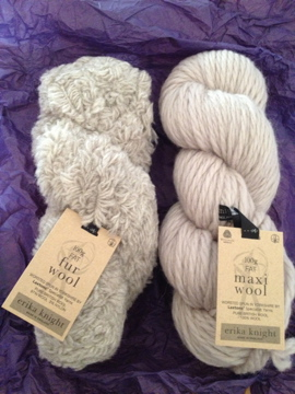 Fur Wool & Maxi Wool by Eirka Knight, kit for Welly Toppers