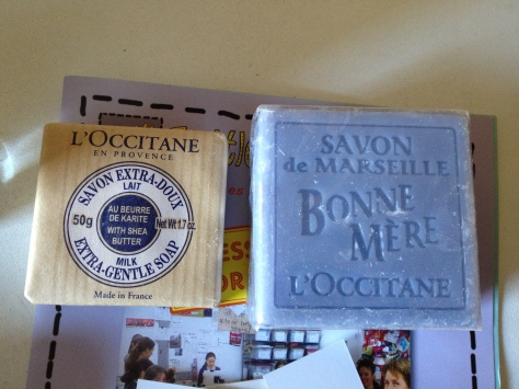 I have a weak spot for nice soap bars
