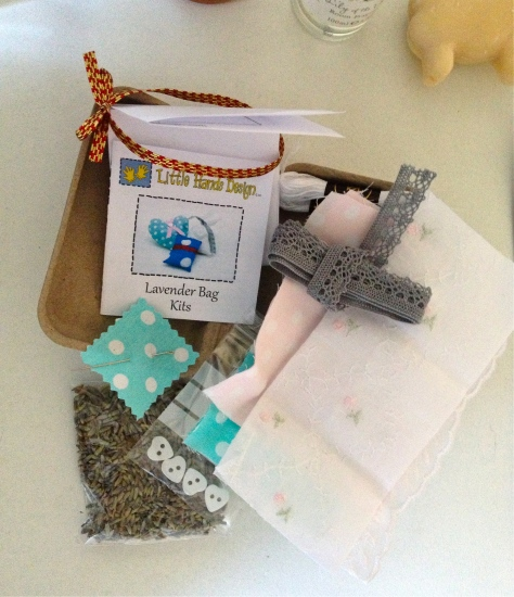 Lavender bag kits by Little Hands Design