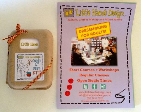 lavender bags make kit by Little Hands Design