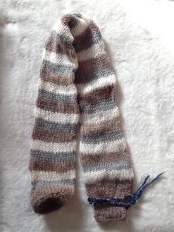 knitted draught stopper