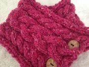 Debbie Bliss Donegal Luxury Tweed, 90% wool 10% angora, spun in Ireland