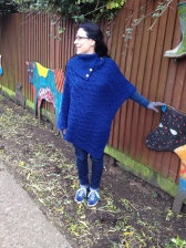 wearing it at the Kentish Town City Farm