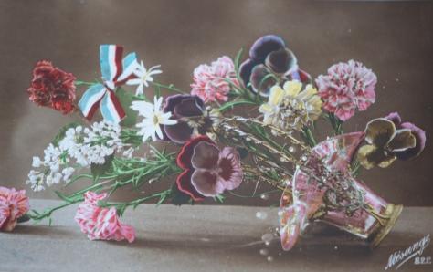 Vintage postcard, circa WWI